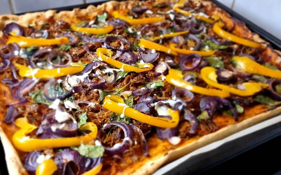 Pulled Porc Pizza